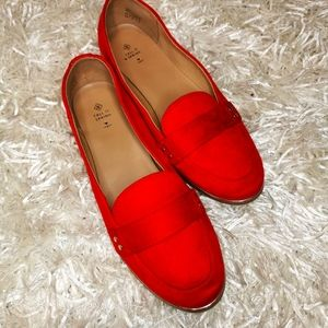Call it Spring |Red &Gold Penny Loafer
